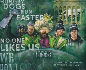 Philadelphia Eagles Super Bowl Art