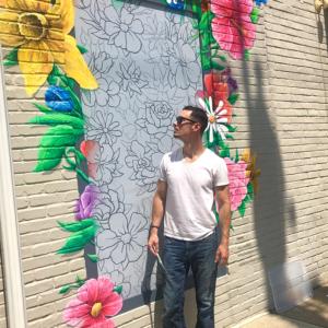 Drew Montemayor - Chestnut Hill Mural - 8500 Germantown Ave