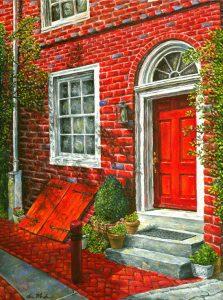 Elfreth's Alley Art - Drew Montemayor