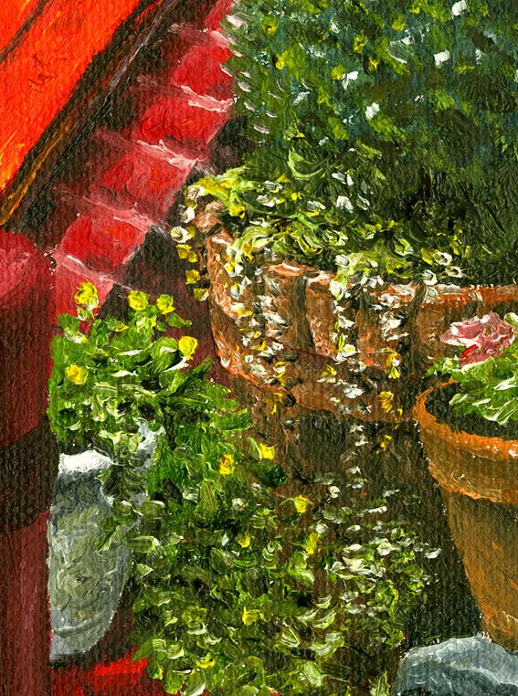 Elfreth's Alley Art Close Up - Drew Montemayor